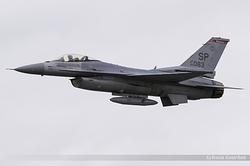 General Dynamics F-16CJ Fighting Falcon United States Air Force 96-0083 / SP