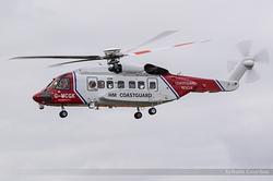 Sikorsky S-92A Helibus HM Coastguard Rescue G-MCGK