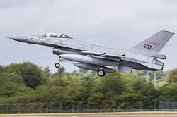 General Dynamics F-16AM Fighting Falcon Royal Norwegian Air Force 687