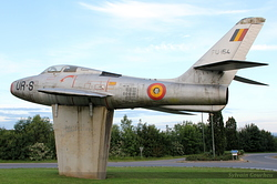 Republic F-84F Thunderstreak Belgium Air Force FU-154