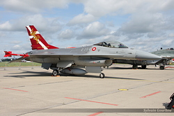 General Dynamics F-16AM Fighting Falcon Denmark Air Force 6F-21 / E-194