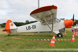 Piper L-21B Super Cub Belgium Air Force LB-01