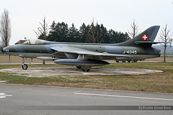 Hawker Hunter F.58 Switzerland Air Force J-4045