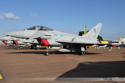 Eurofighter EF-2000 Typhoon FGR4 Royal Air Force ZK343 / EA