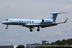 Aerospace G-V-SP Gulfstream G550 Bahrain Royal Flight A9C-BRN