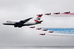 Airbus A380-841 British Airways G-XLEA