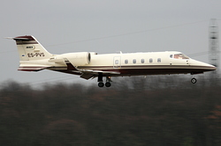 Bombardier Learjet 60 Avies Air Company ES-PVS