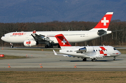 Canadair CL-600-2B16 Challenger 604 REGA Swiss Air Ambulance HB-JRA