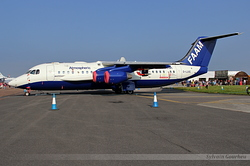 British Aerospace BAe-146-301ARA FAAM G-LUXE