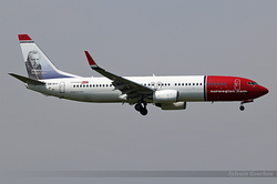 Boeing 737-8JP(WL) Norwegian Air Shuttle LN-DYF