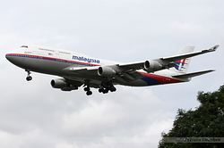 Boeing 747-4H6 Malaysia Airlines 9M-MPO