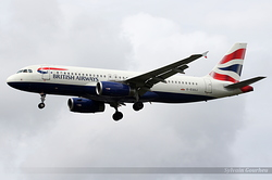 Airbus A320-232 British Airways G-EUUJ