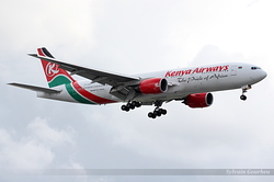 Boeing 777-2U8/ER Kenya Airways 5Y-KQT