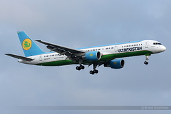 Boeing 757-23P Uzbekistan Airways UK75701