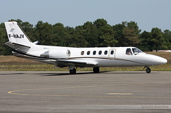 Cessna 550 Citation II VallJet F-HAJV
