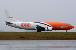 Boeing 737-4M0(SF) TNT Airways OE-IAP