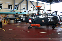 Sud-Aviation SA-319B Alouette III Marine Nationale 731
