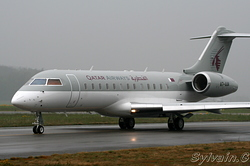 Bombardier BD-700-1A10 Global Express Qatar Amiri Flight A7-AAM