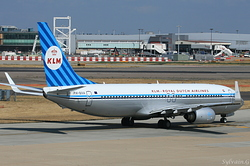Boeing 737-8K2 KLM Royal Dutch Airlines PH-BXA