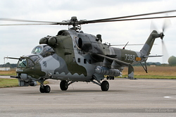Mil Mi-35V Czech Republic Air Force 7358