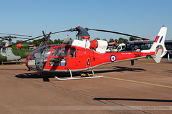 Aerospatiale SA-341D Gazelle HT3 Royal Air Force ZB627