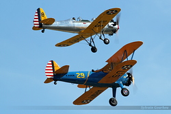 Ryan PT-22 Recruit N53018 & Boeing Stearman F-AZCK