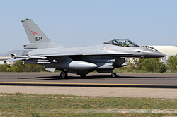 General Dynamics F-16AM Fighting Falcon Norway Air Force 674