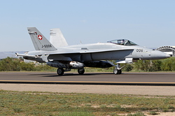 McDonnell Douglas F/A-18C Hornet Switzerland Air Force J-5006