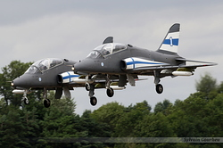 British Aerospace Hawk Mk51 Finland Air Force HW-341 & HW-334