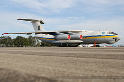 Ilyushin Il-76MD Ukrainian Air Force 76413