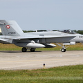 McDonnell Douglas F/A-18C Hornet Switzerland Air Force J-5021