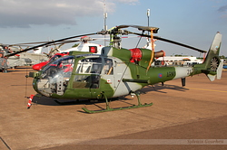 Aerospatiale SA-341B Gazelle AH1 Royal Army ZA772