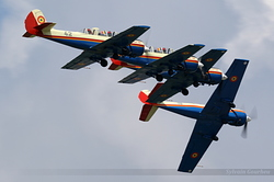 Yakovlev Iak-52 Romania Air Force 18, 40, 38 & 42
