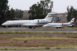Cessna 560XL Citation XLS Royal Moroccan Air Force 560-6047 / CN-AMK & Gulfstream Aeropace G550 Royal Moroccan Air Force 5462 / CN-AMR