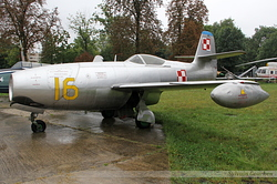 Yakovlev Yak-23 Polish Air Force 16