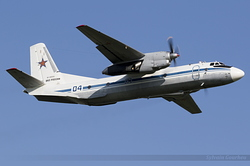 Antonov An-26 Russian Air Force RF-36059 / 04 Blue