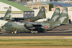 Lockheed C-130H Hercules Japan Air Self Defence Force 75-1075