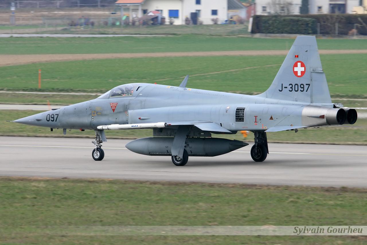 Northrop F-5E Tiger II Switzerland Air Force J-3097