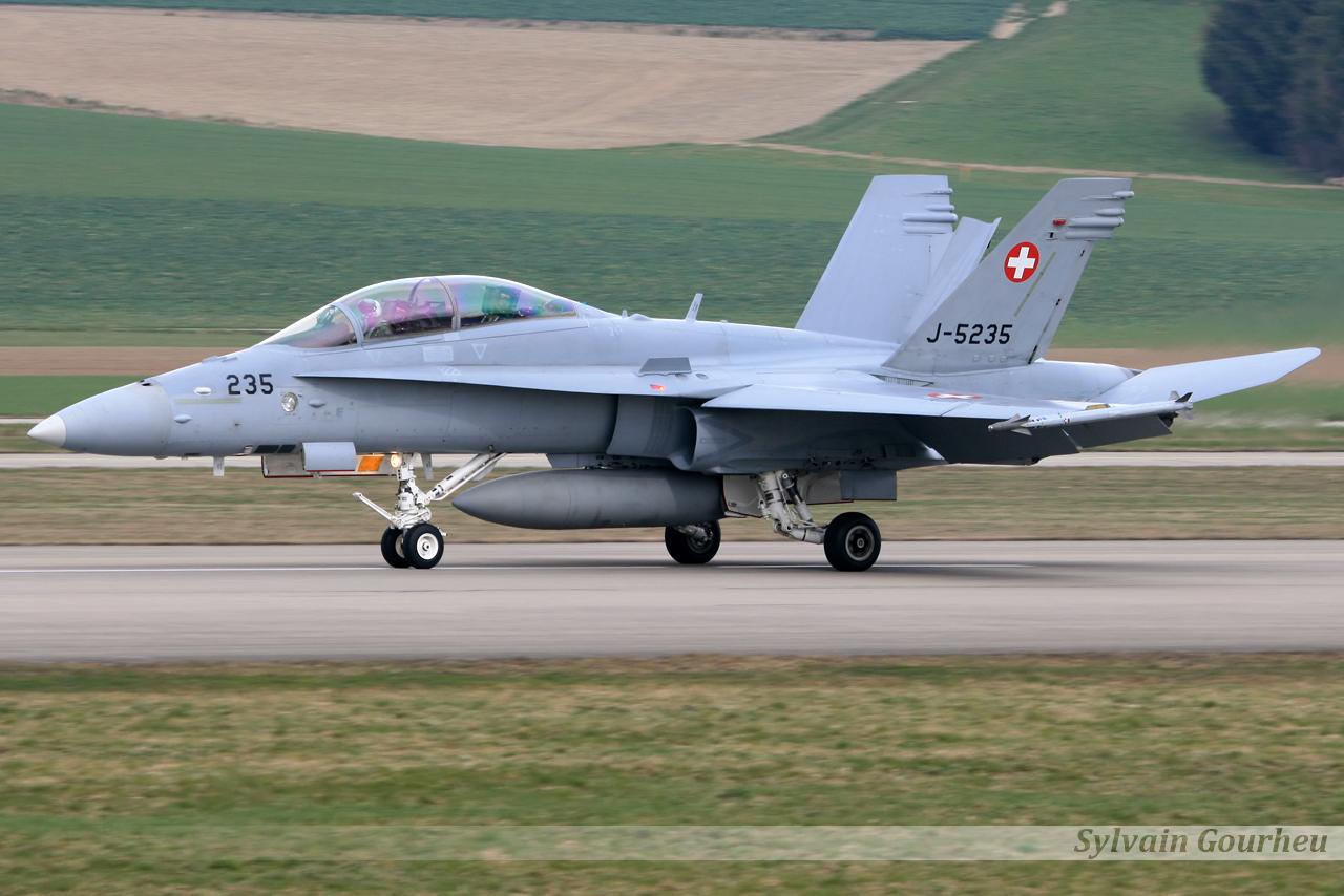 McDonnell Douglas F/A-18D Hornet Switzerland Air Force J-5235