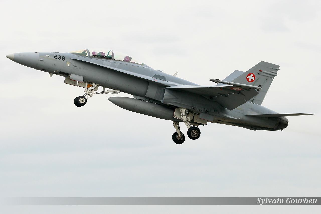 McDonnell Douglas F/A-18D Hornet Switzerland Air Force J-5238