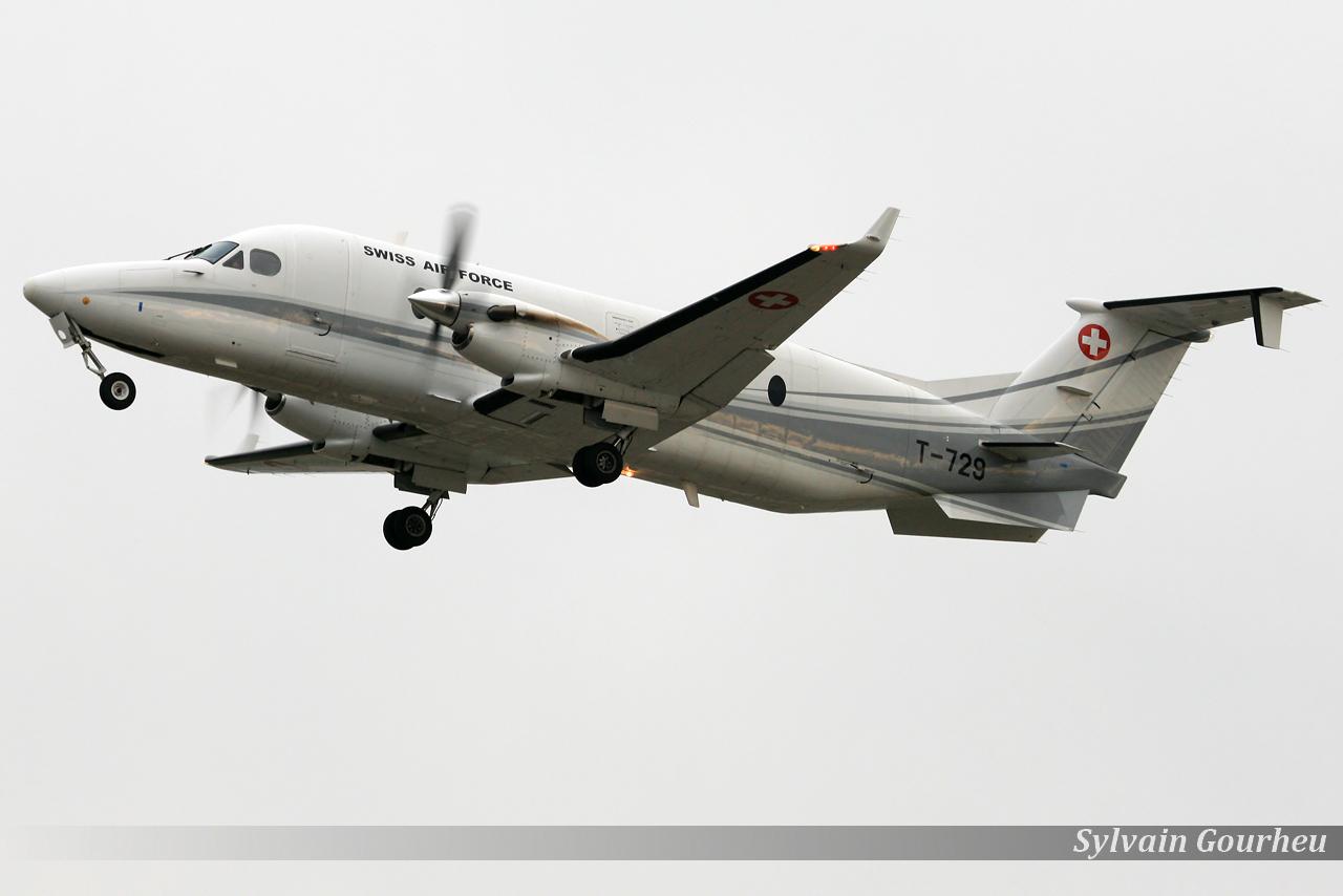 Beechcraft 1900D Switzerland Air Force T-729