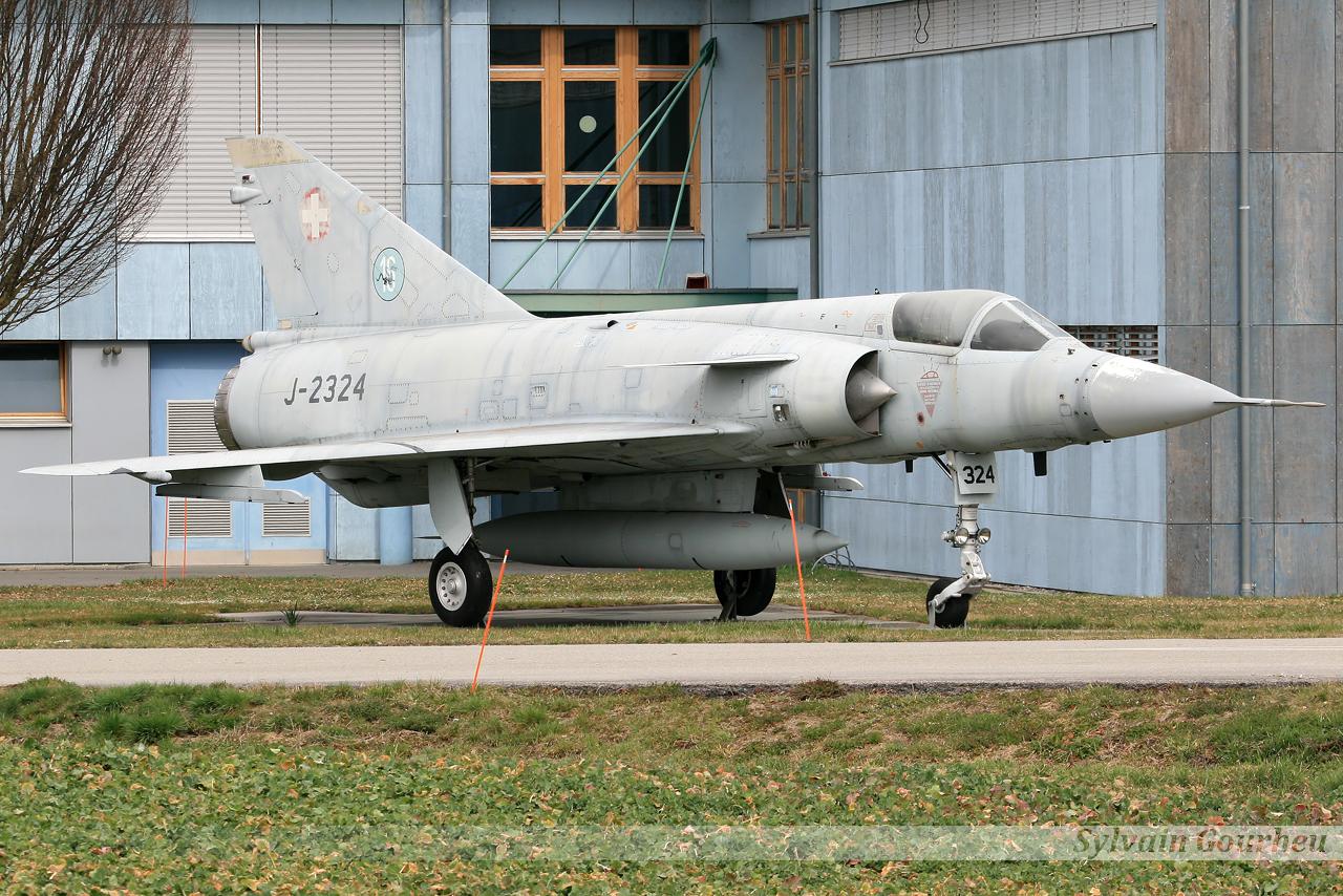 Dassault Mirage IIIS Switzerland Air Force J-2324