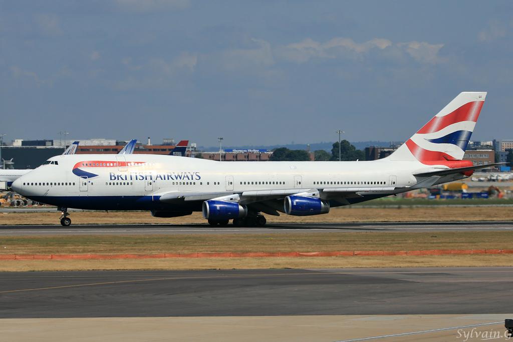 Boeing 747-436 British Airways G-BYGC
