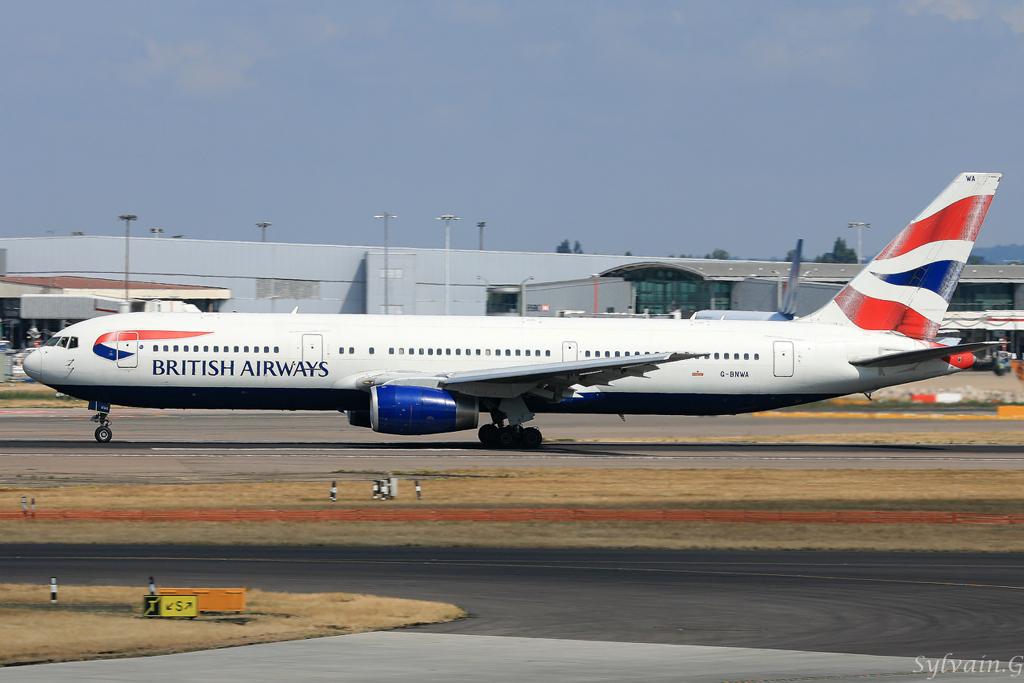 Boeing 767-336 British Airways G-BNWA