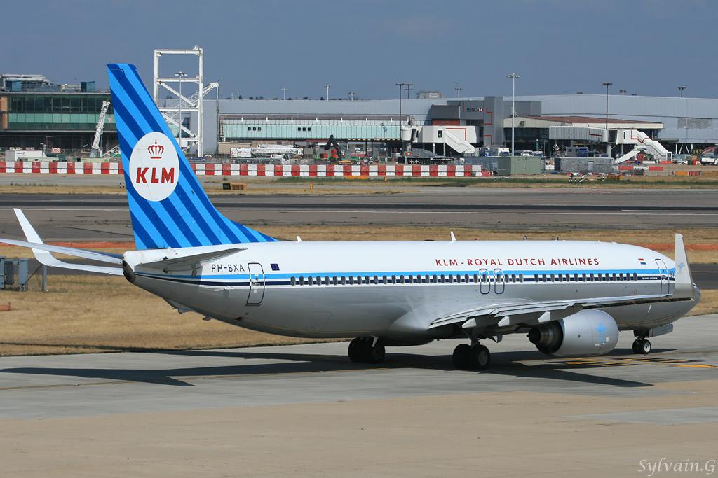 Boeing 737-8K2 KLM Royal Dutch Airlines PH-BXA