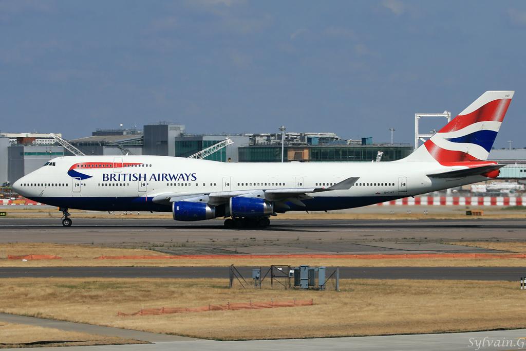 Boeing 747-436 British Airways G-CIVT